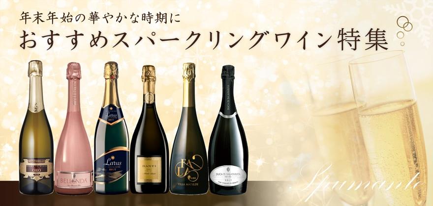 年末年始の華やかな時期に おすすめスパークリングワイン特集