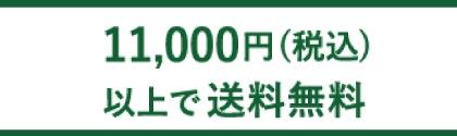 11,000円(税込)以上で送料無料