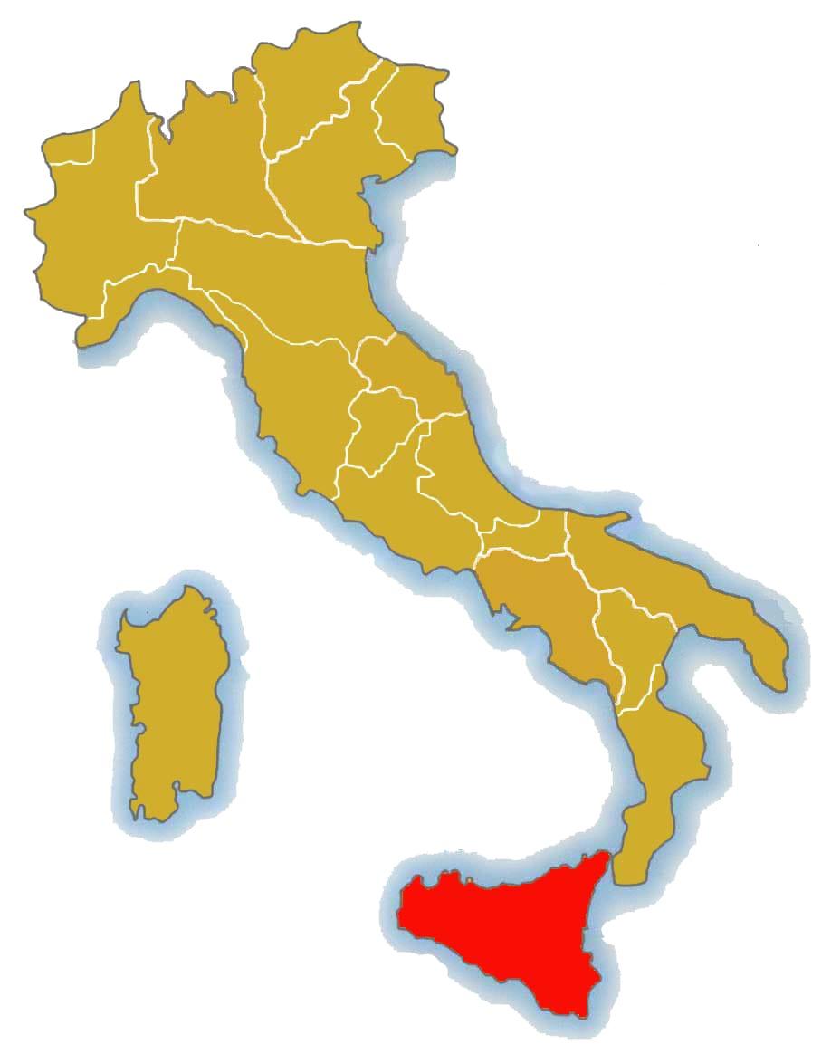 シチリア州から