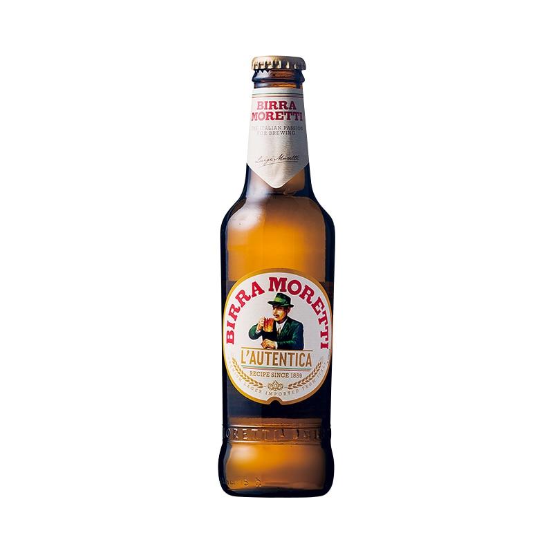 モレッティ・ビール330ml 1本