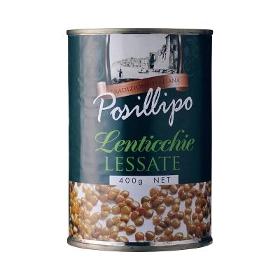 ポジリポ レンティッキエ(レンズ豆)水煮 400g