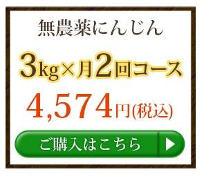 無農薬にんじん3kg×2回