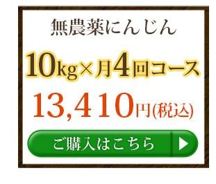 無農薬にんじん10kg×3回