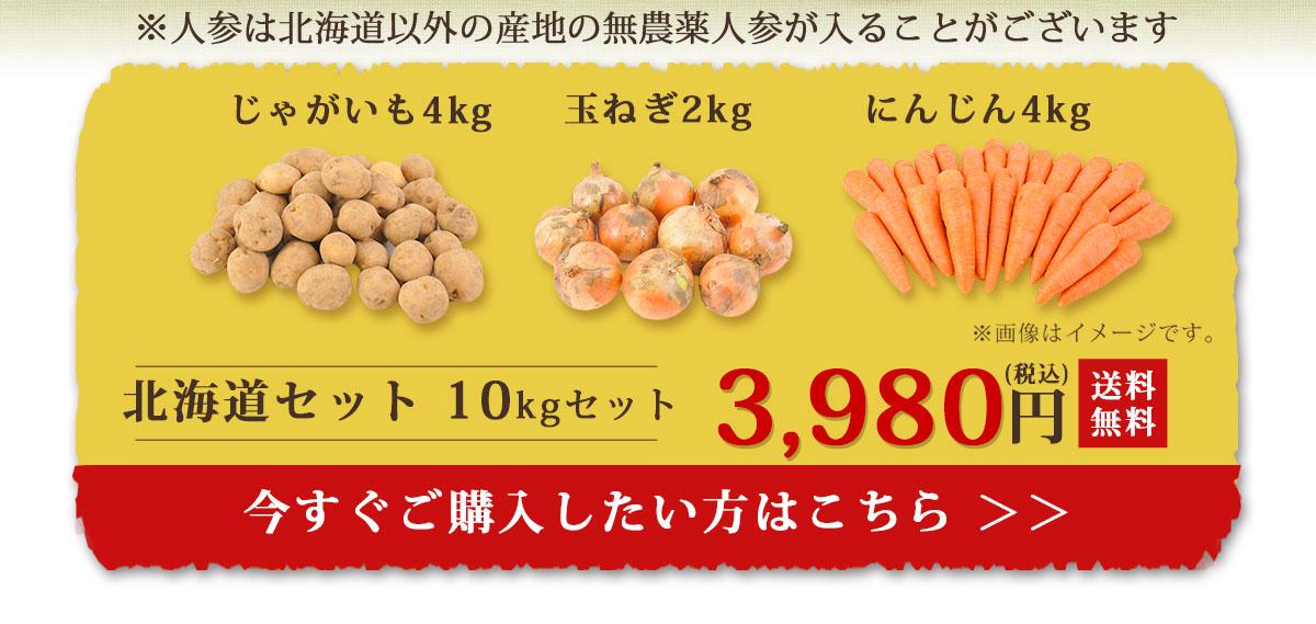 北海道10kgセットカゴ