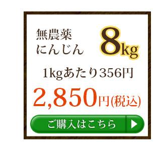 無農薬にんじん8kg