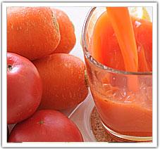 塩トマトにんじんジュース