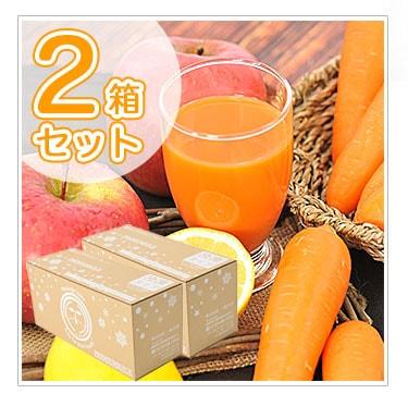 にんじんりんごレモンジュース100ml×60