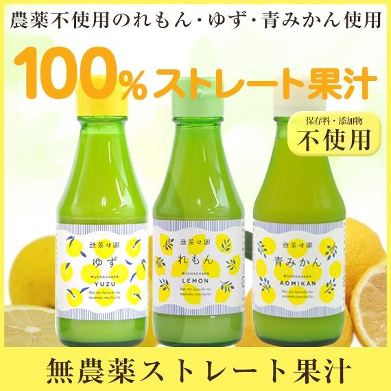 無農薬ストレート果汁