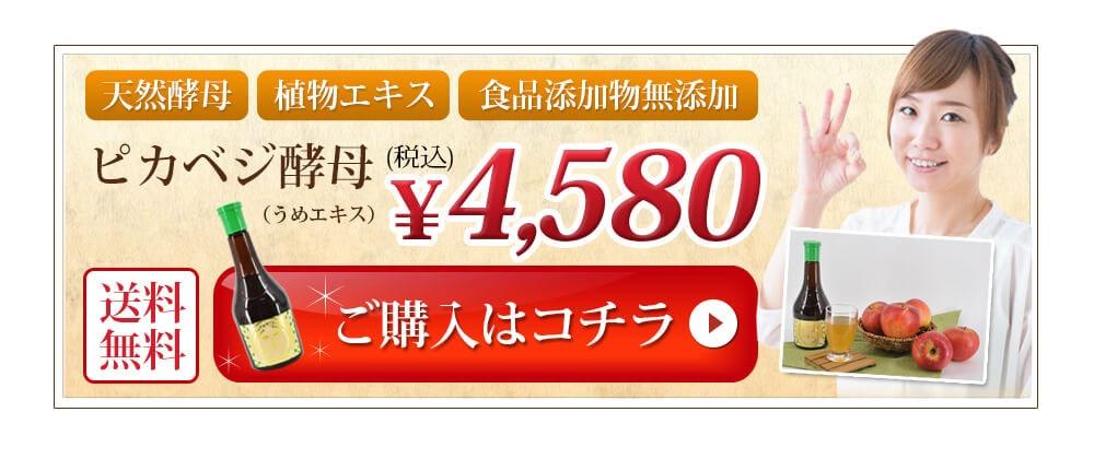 ピカベジ酵母 4,580円(税込)送料無料 ご購入はコチラ