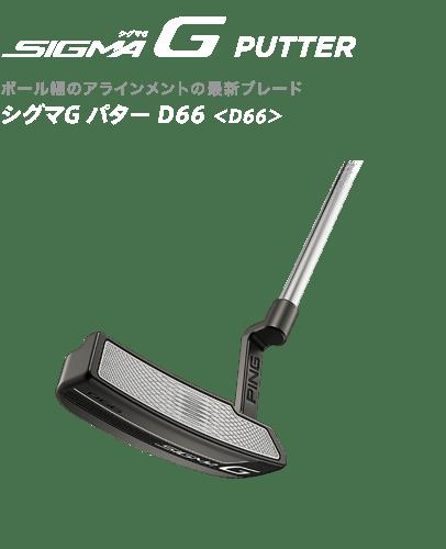 SIGMA G D66(ブラックニッケル)
