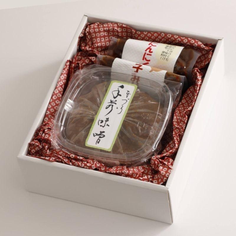 【母の日ギフト対応可】手作り味噌ギフトセット by いすみ学園 2,200円 (税・送料込)