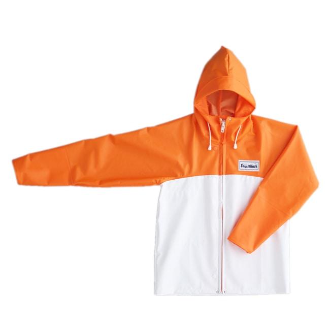 マリンジャケット オレンジ×ホワイト