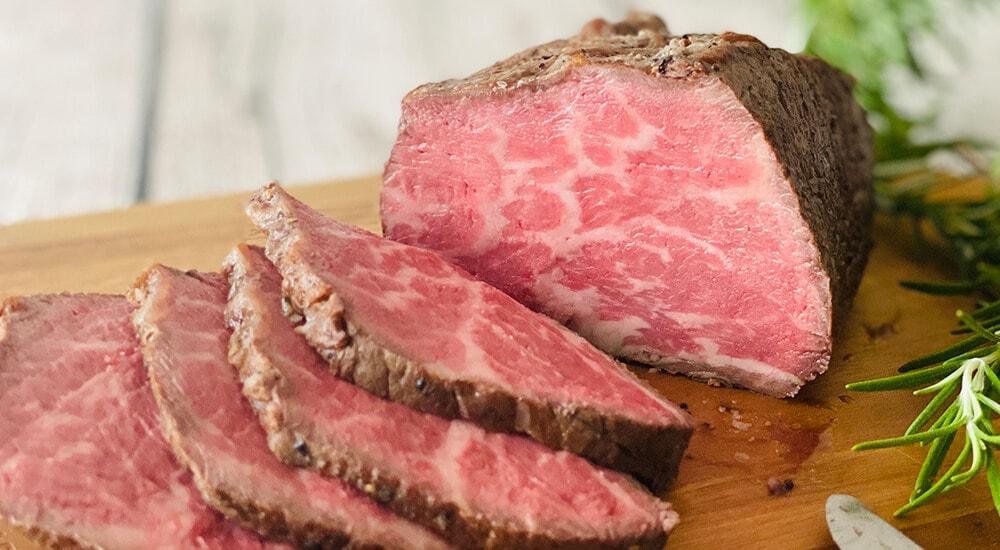 おいしそうに調理された牛肉