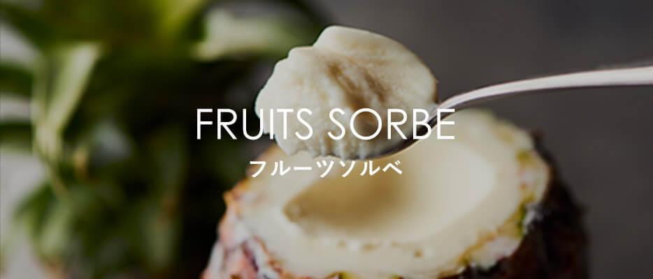 FRUITS SORBE フルーツソルベ