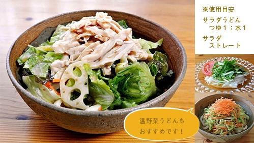 桜井花筵堂ごまみそつゆでサラダうどん