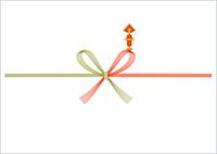 紅白蝶結び(花結び)