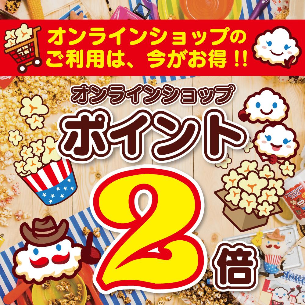 オンラインショップ特別キャンペーン!!1・2月はポイント2倍!!