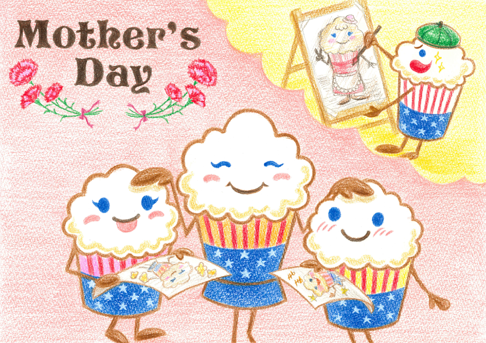 ★5月9日は母の日!!★母の日メッセージカード無料プレゼント♪