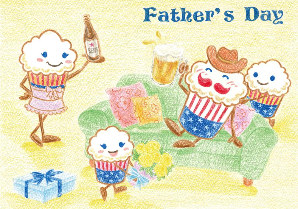 ★6月20日は父の日!!★父の日メッセージカード無料プレゼント♪