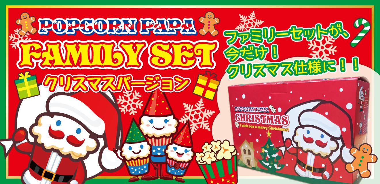 パーティーやプレゼントに!【ファミリーセット クリスマスVer.】