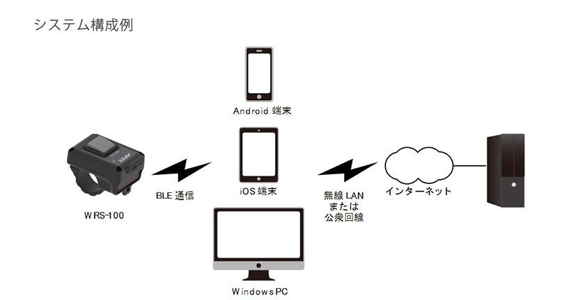 WRS-100 システム構成例