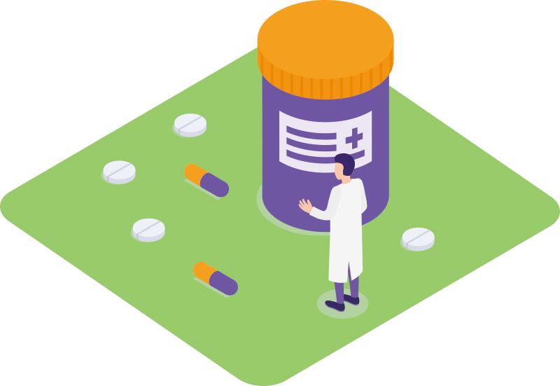 調剤薬局の会計に対応
