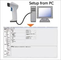 """各種パラメータを簡単に設定できる無償ソフト""""Scanner Setting 2D"""""""