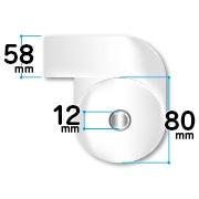 58mm幅レジロール紙 サイズ
