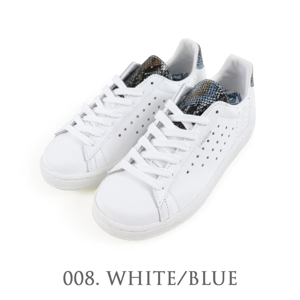 QUEBEC+(ケベックプラス) ホワイト/ブルー