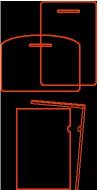 特殊型クリアファイル
