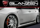 プリウス50系専用 フロントフェンダー&サイドステップ GLANZEN