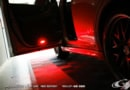 プリウス30系用 LEDカーテシランプ レッドエディション