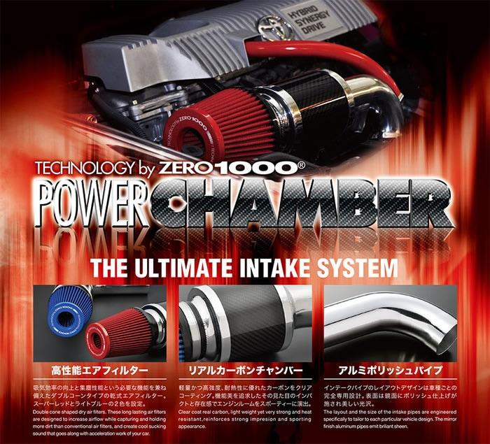 プリウス50系専用 パワーチャンバーキット (ZERO-1000)
