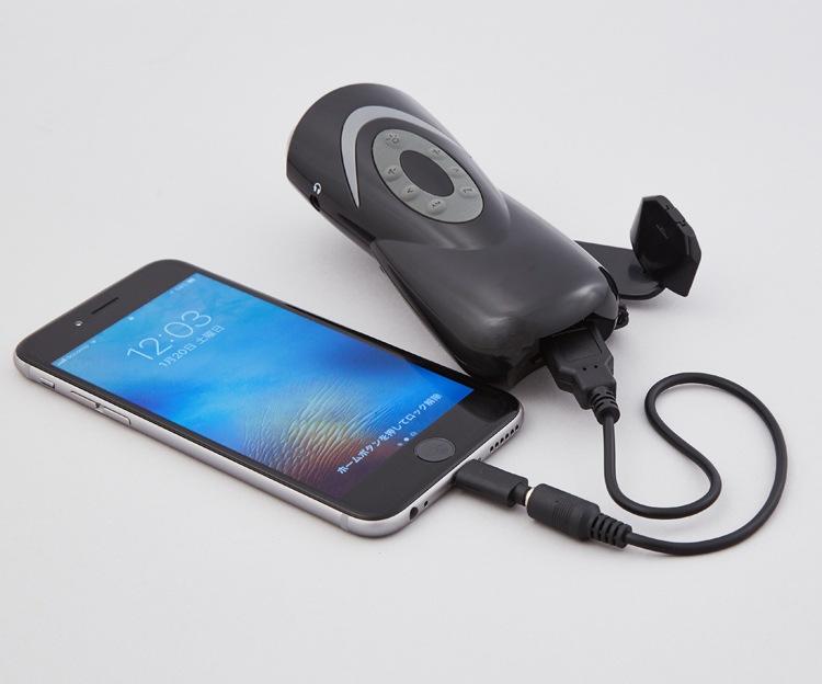 機能:iPhoneへの充電