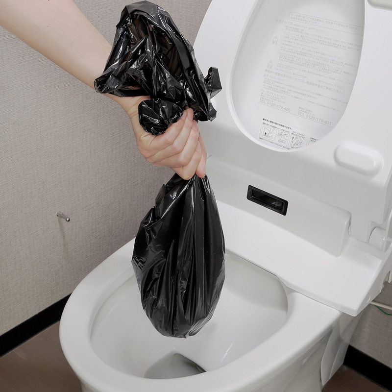 非常用簡易トイレ