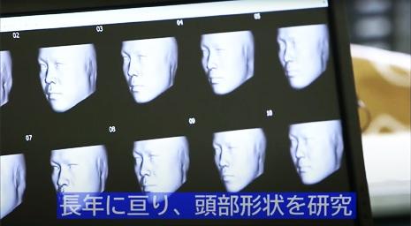 日本製フェイスシールド開発イメージ