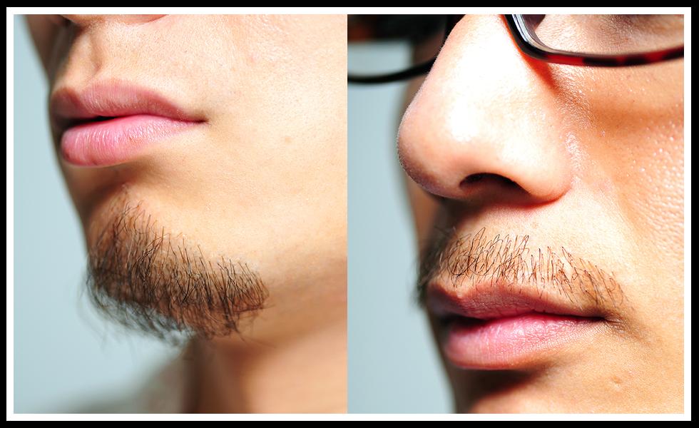 徹底的にリアルのこだわったプロピアの付け髭
