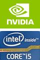 NVIDIA intel corei5