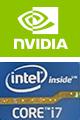 NVIDIA intel corei7