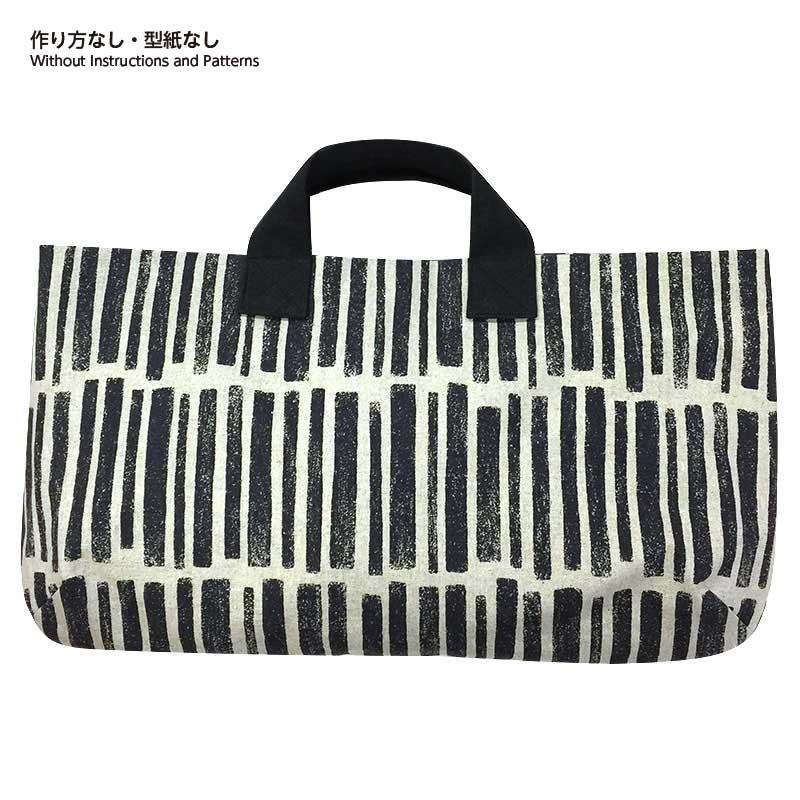 横長のバッグ(作り方なし)すてきにハンドメイド2021年7月号掲載