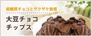 大豆チョコチップス