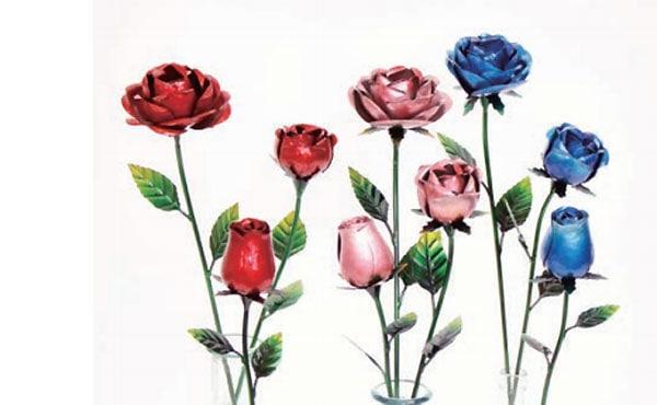 アイアンローズスティックカーディフローズ2色咲き