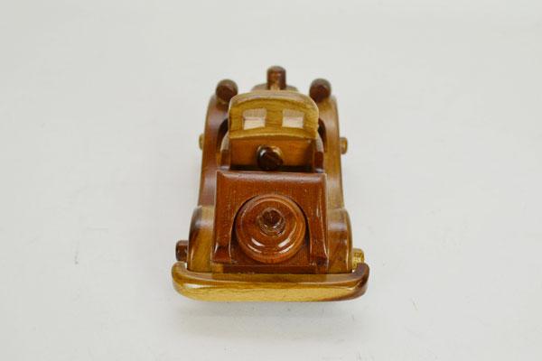 ベビー&キッズ:木製ミニチュア車