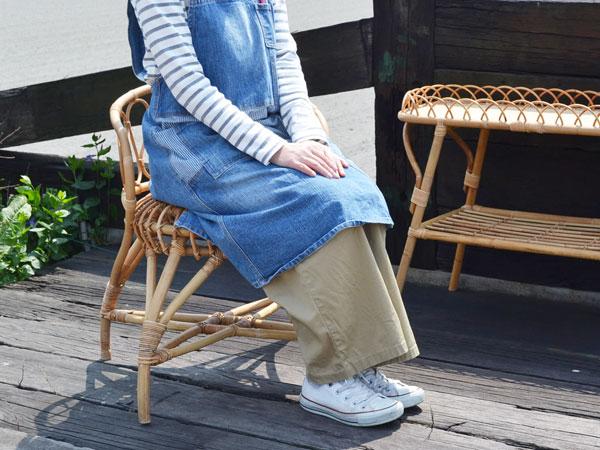 【送料無料】ラタン家具ユグラパーソナルチェア籐椅子