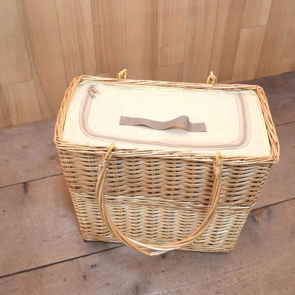 保冷ウィローバスケット深型 保冷保温シート付