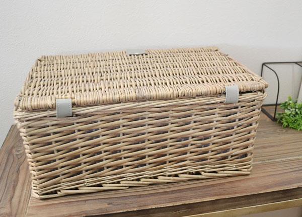 ピクニックバスケットかごバッグ柳かごピクニック運動会