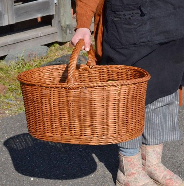 送料無料(北海道・沖縄を除く)大きなピクニックバスケット