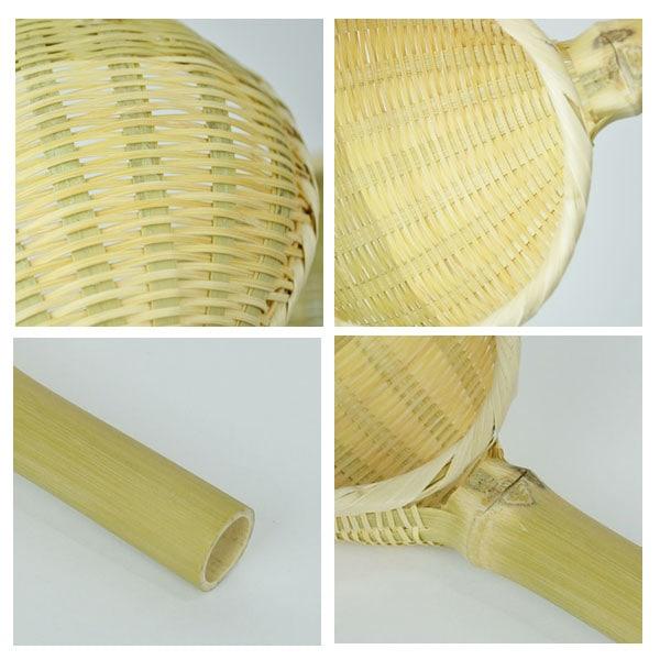 日本のもの竹湯切りざる真竹【大】ざる日本製