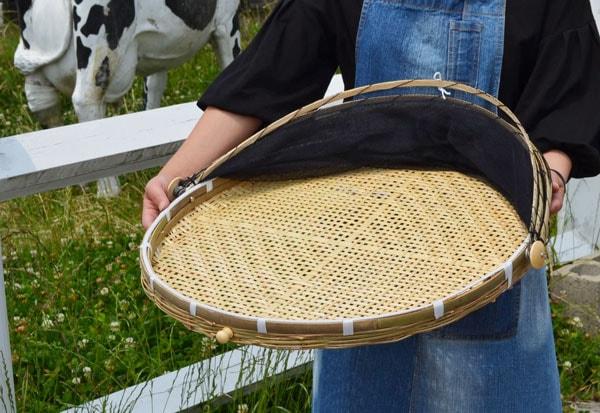干しざるネット付き竹製自家製なら安心おうちで干物つくり