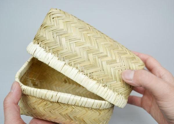 バンブーお弁当箱Mサイズ竹おむすび小物入れ